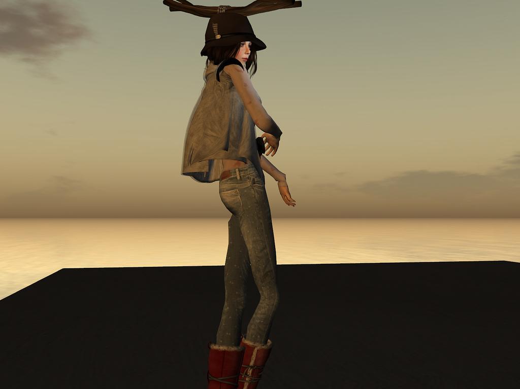 Skinny Jeans Female Model