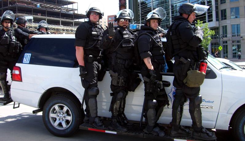 Denver Police full battle gear