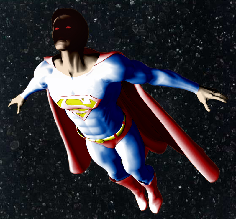 Superman Man of Steel In Space No One Can Hear You Resurrect