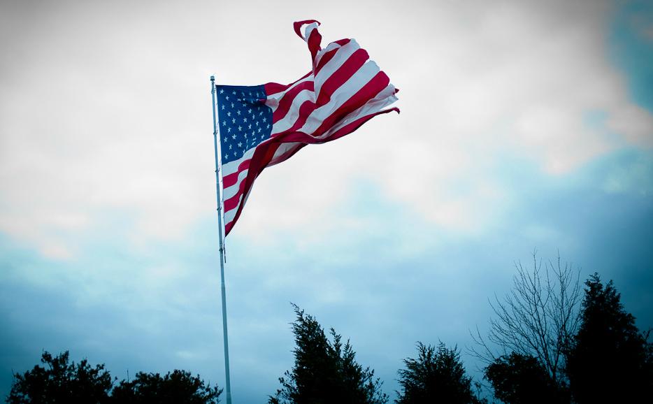 American Flag by Shardayyy