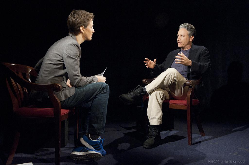 Rachel Maddow Jon Stewart Daily Show 2010