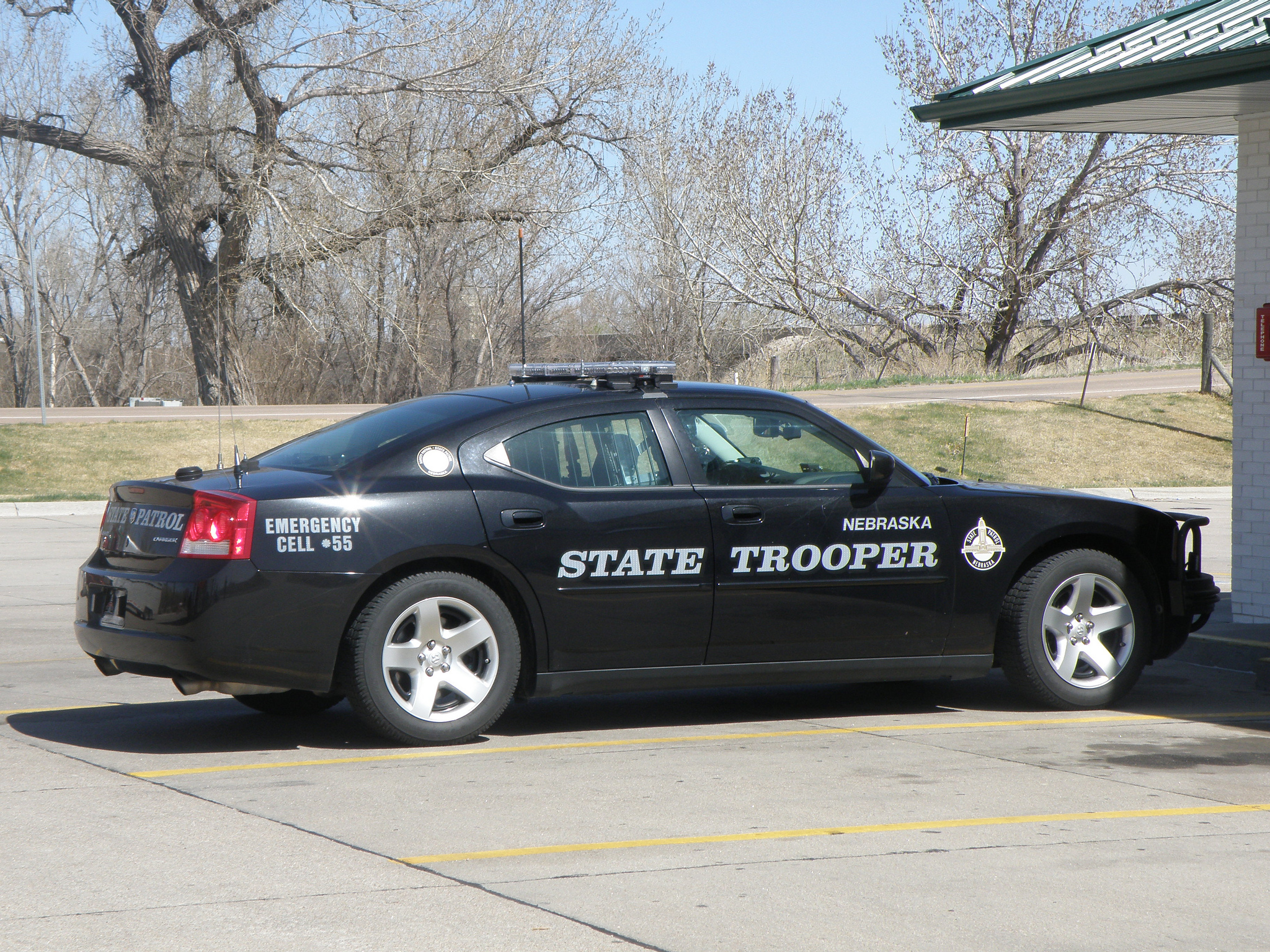 Nebraska State Trooper Marijuana Stop Dodge Charger