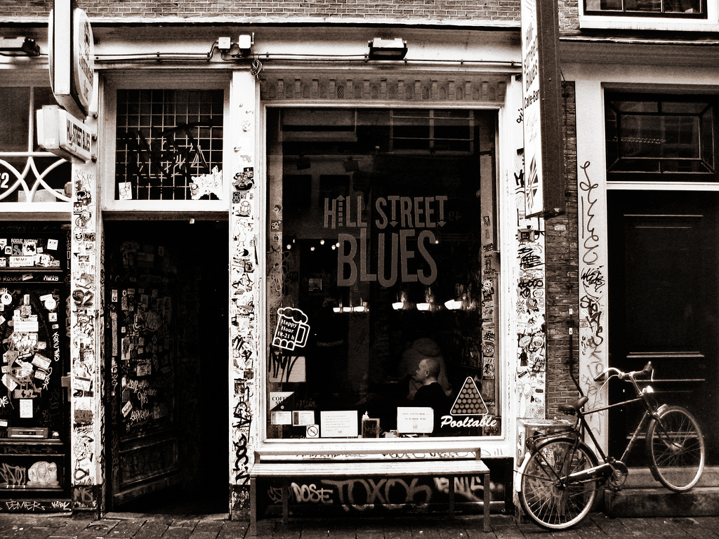 Hill Street Blues Coffee Shop Amsterdam