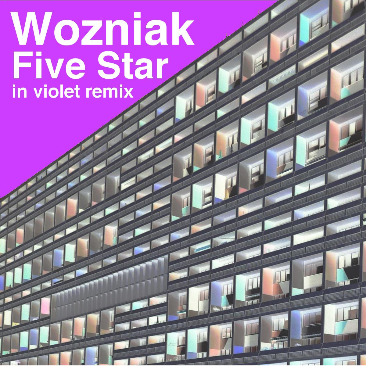 Wozniak Five Star In Violet Artwork