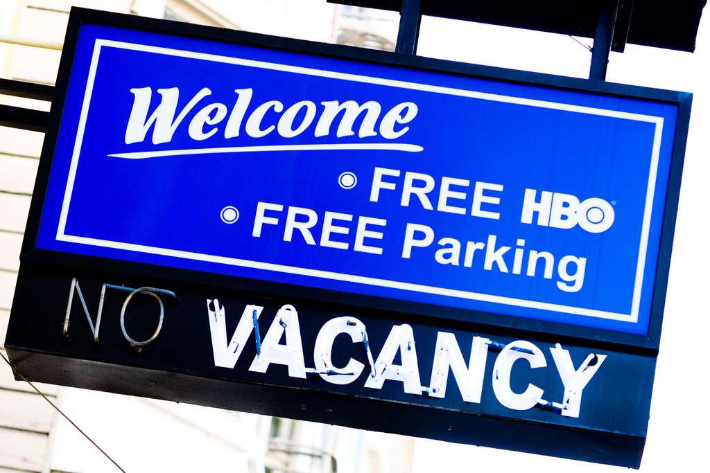 Free HBO Motel Sign