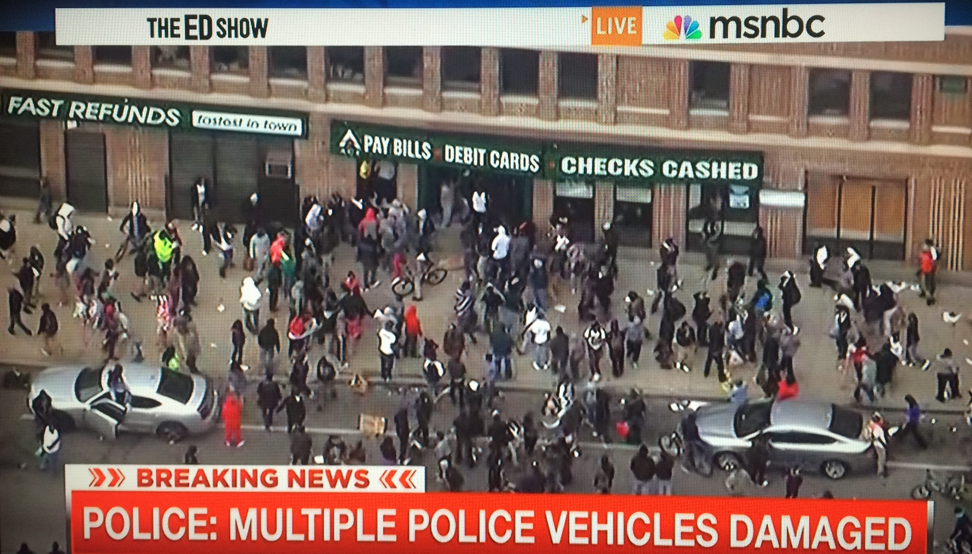 Baltimore Riots ACE Payday Loans Looting-2