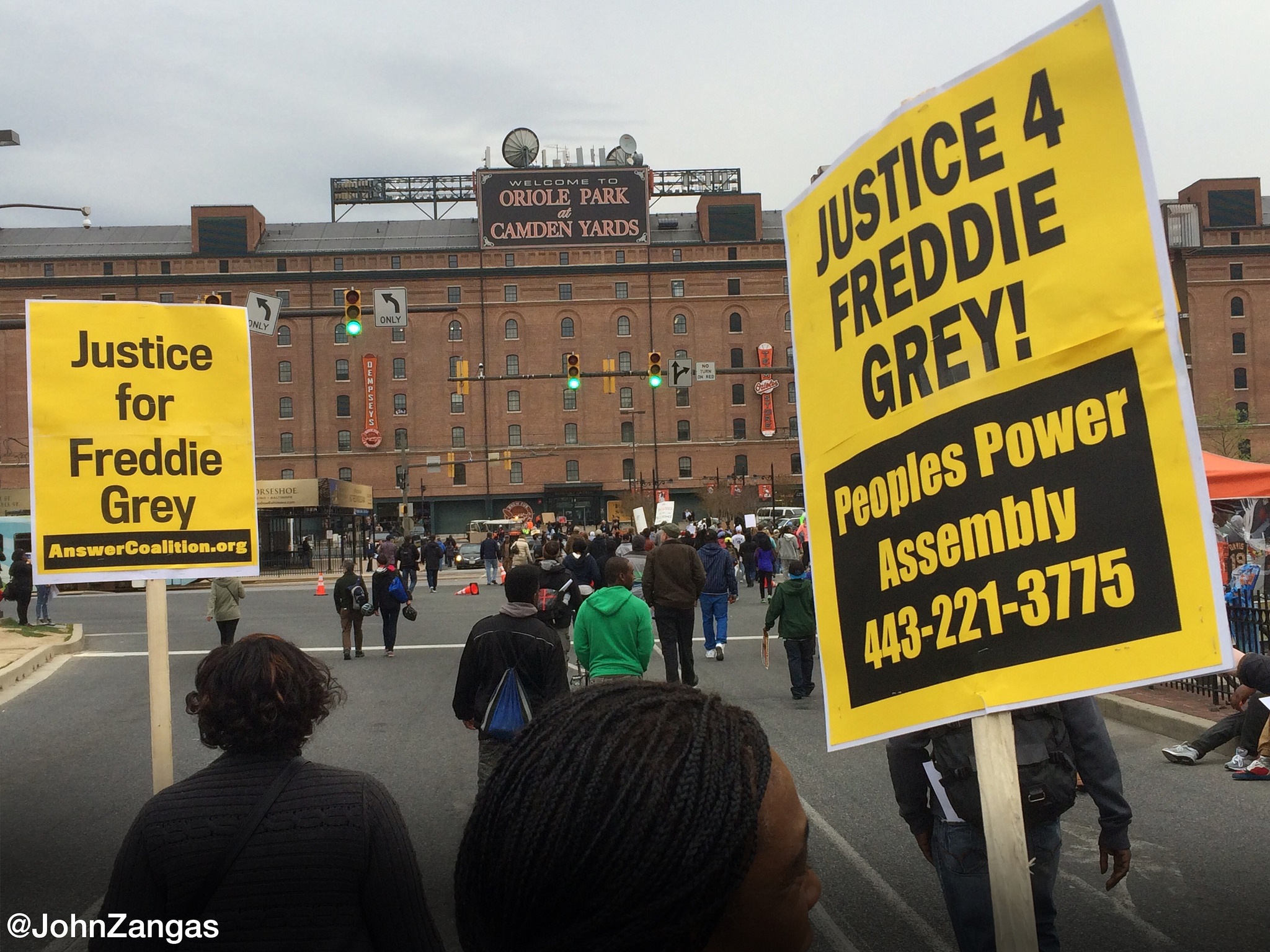 Baltimore Riots Freddie Gray Protests 4-2015
