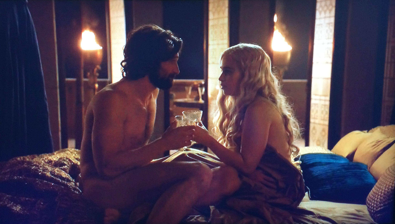Daenerys Targaryen and Daario Naharis Nude