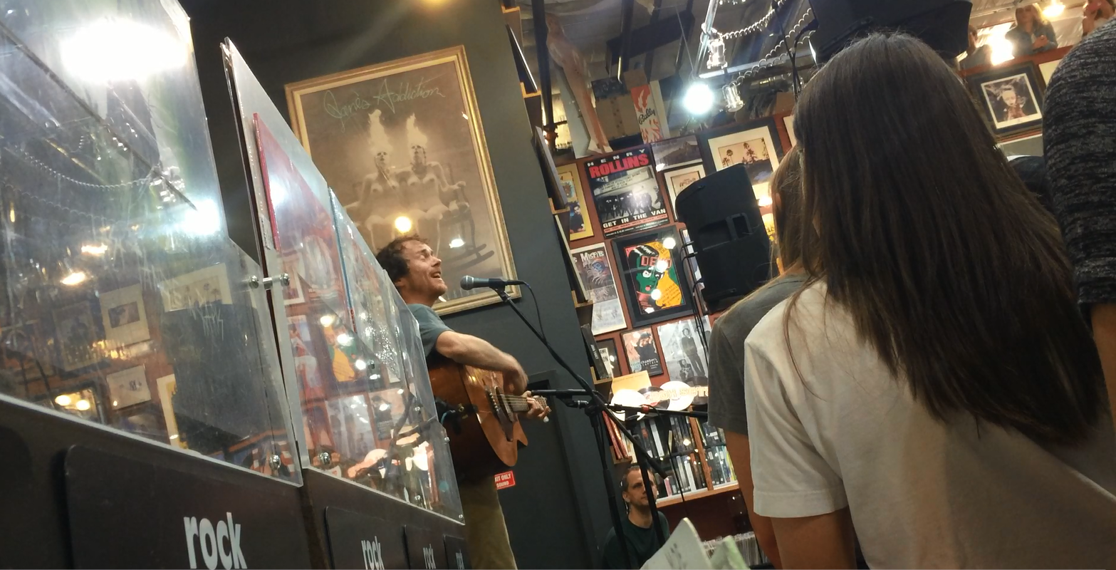 Damien Rice The Blowers Daughter Record Store Day Twist and Shout Records Denver 4-18-2015