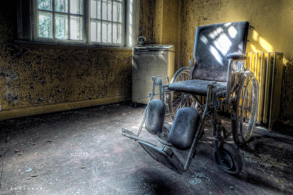 Wheelchair at Asylum