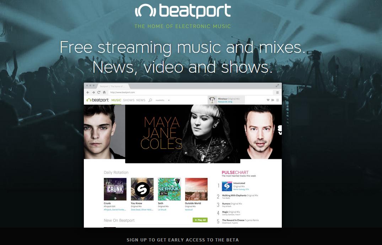 Beatport Pro Beta