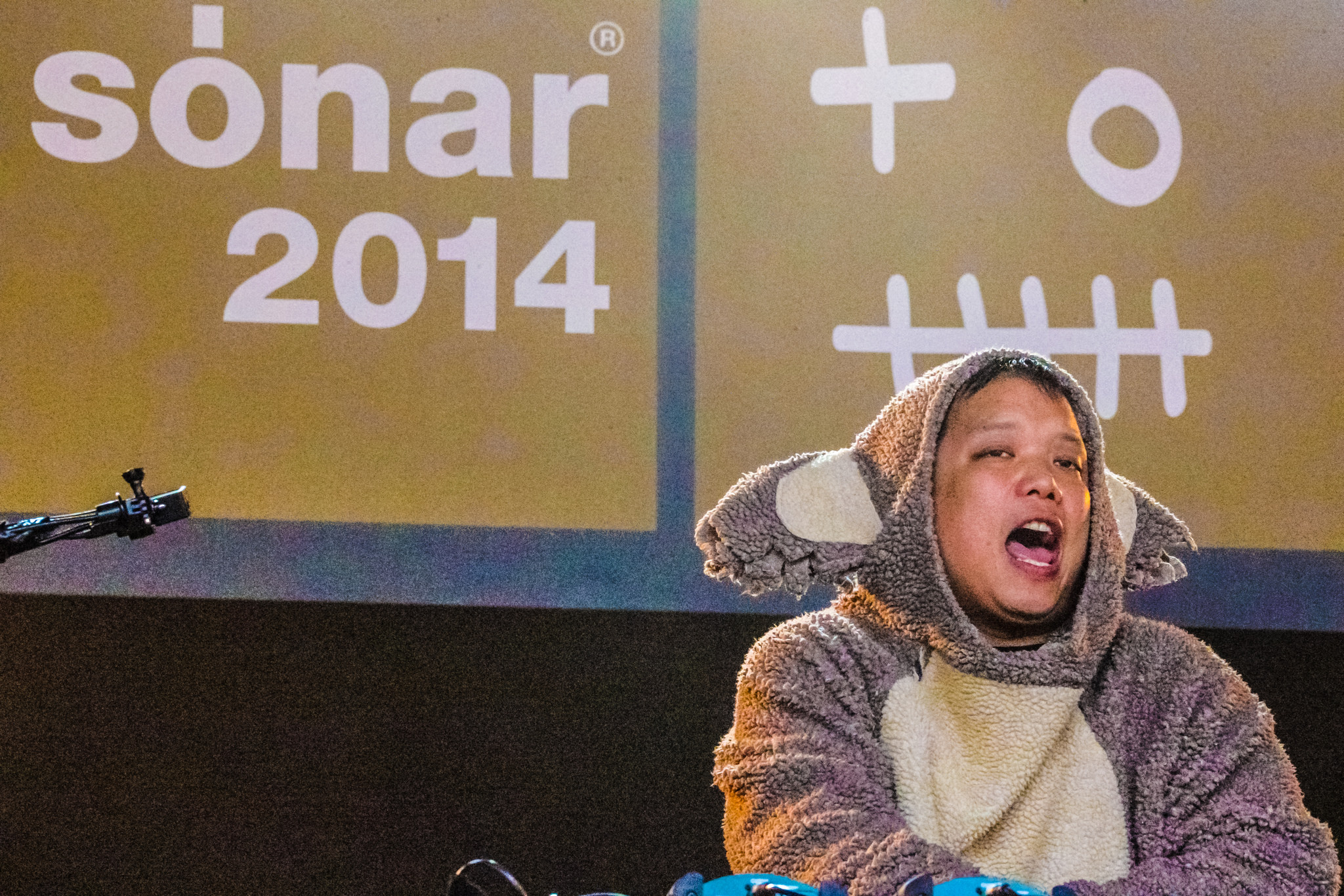Kid Koala Performs Sonar 2014 Barcelona