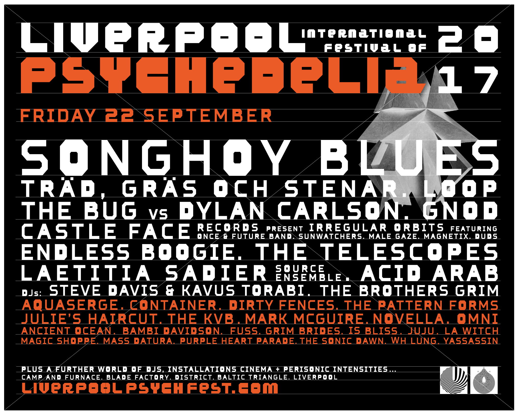 Liverpool Psych Fest Lineup 2