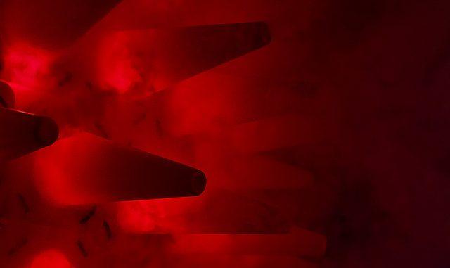 red black alien