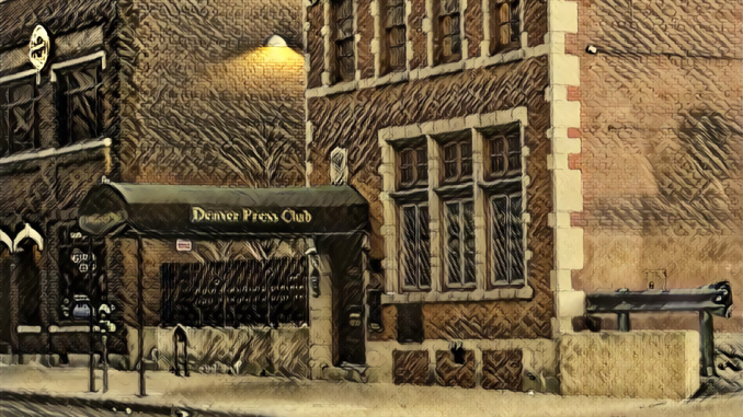 Denver Press Club DeepDream Derek Gregory