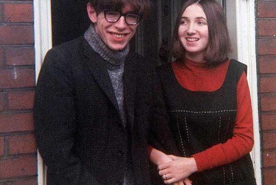 Stephen Hawking and Jane Wilde Hawking