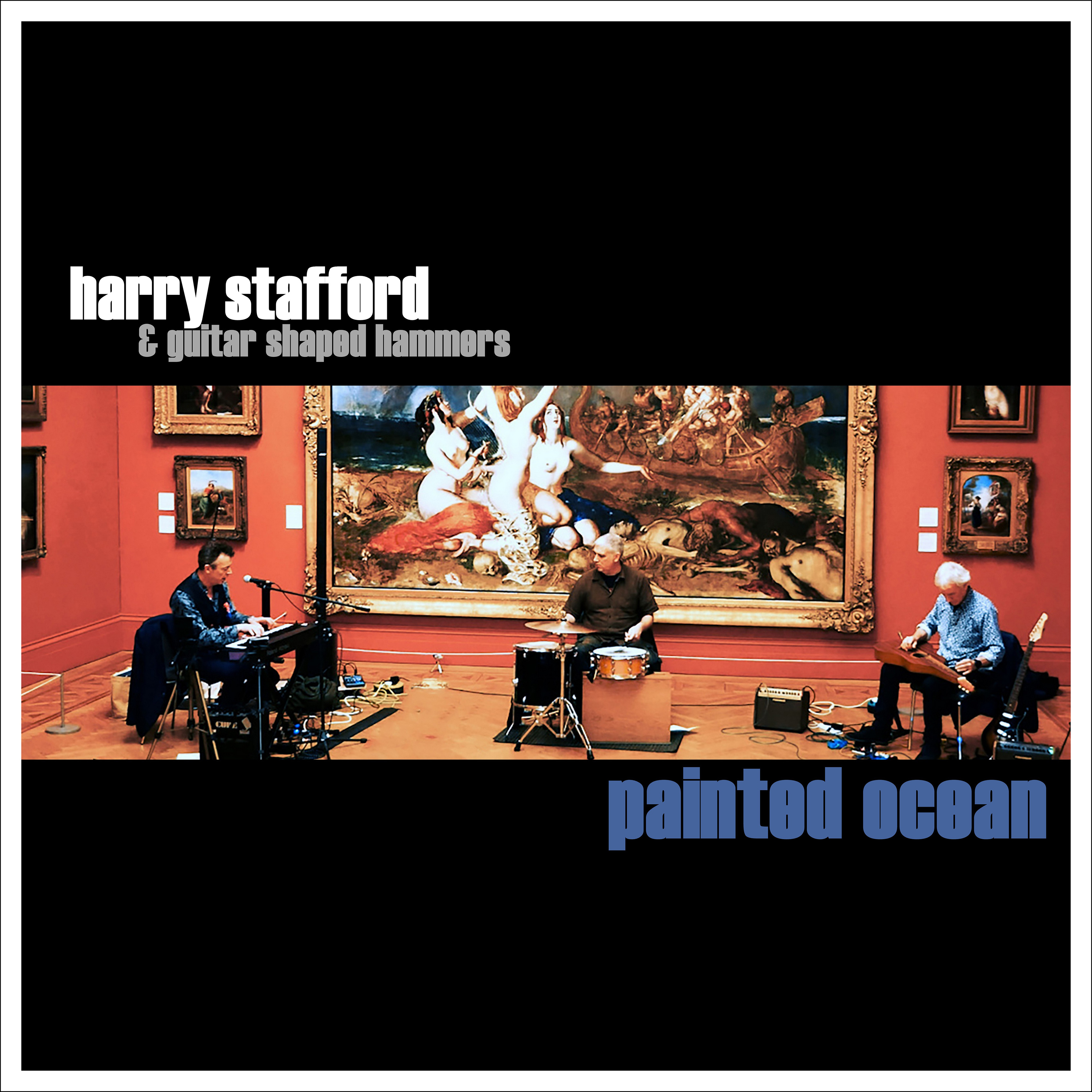 Harry Stafford – Painted Ocean (cover)