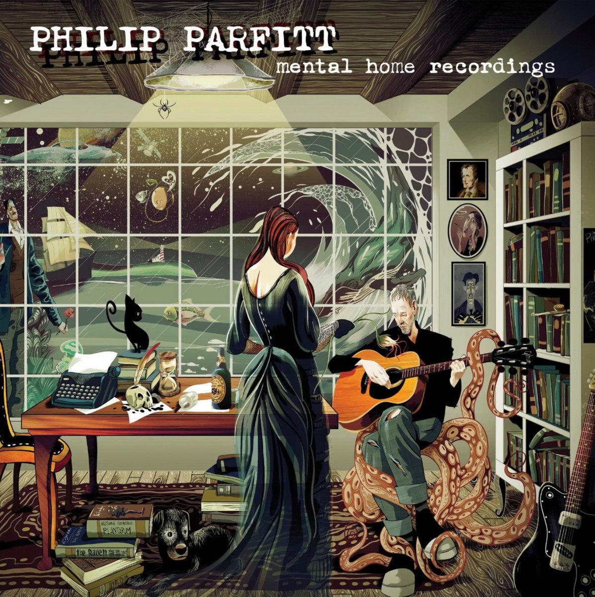 Philip Parfitt – Home Recordings (cover)
