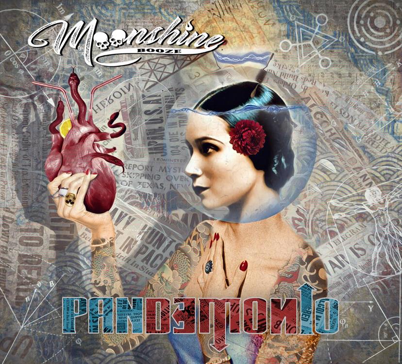 Moonshine Booze – Pandemonio LP (cover)
